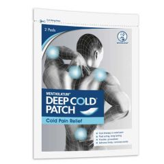 MENTHOLATUM DEEP COLD PATCH COLD PAIN RELIEF 2S