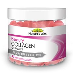 NATURES WAY BEAUTY COLLAGEN GUMMIES 40S
