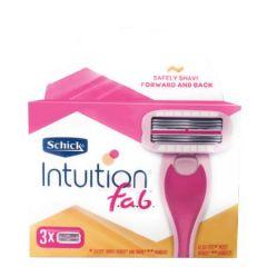 SCHICK INTUITION F.A.B REFILL 3S