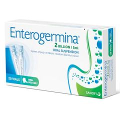 ENTEROGERMINA PROBIOTIC ORAL SUSPENSION VIAL 10S X 2