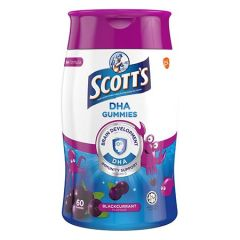 SCOTTS DHA GUMMIES BLACKCURRANT 60S