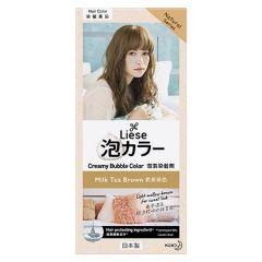 LIESE HAIR CREAMY BUBBLE COLOR - MILK TEA BROWN 1S