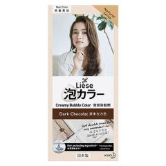 LIESE HAIR CREAMY BUBBLE COLOR - DARK CHOCOLATE 1S