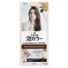 LIESE HAIR CREAMY BUBBLE COLOR - DARK CHOCOLATE 1S