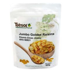 TRESOR EARTHFOOD JUMBO GOLDEN RAISIN 180G