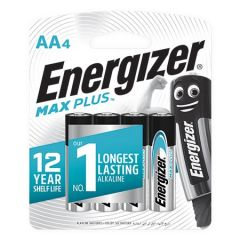 ENERGIZER MAX PLUS AA BATTERY 4S