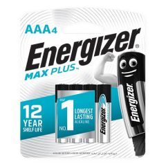 ENERGIZER MAX PLUS AAA BATTERY 4S
