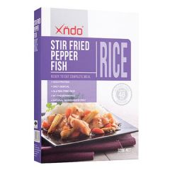 XNDO STIR FRIED PEPPER FISH RICE 320G