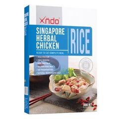XNDO SINGAPORE HERBAL CHICKEN RICE 300G
