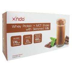 XNDO WHEY PROTEIN CHOCOLATE FLAVOUR SACHET 45G X 20S