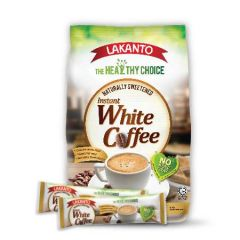LAKANTO INSTANT WHITE COFFEE 32G 12S