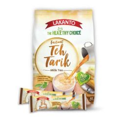 LAKANTO HEALTHY INSTANT TEH TARIK MILK TEA SACHET 35G X 12S