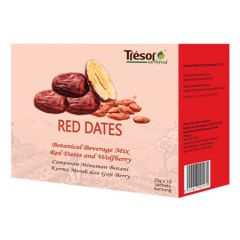 TRESOR EARTHFOOD RED DATES TEA 20G X 10S