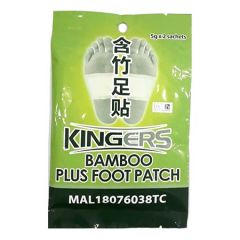 KINGERS BAMBOO PLUS FOOT PATCH 5G X 2S