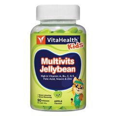 VITAHEALTH KIDS MULTIVITAMINS JELLYBEAN 90S