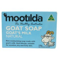 MOOTILDA GOAT'S MILK NATURAL 100G