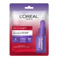 LOREAL REVITALIFT PRO YOUTH FACE MASK PLUMPING ESSENCE 1S