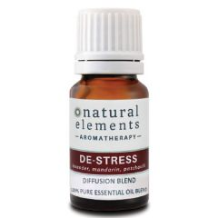NATURAL ELEMENTS AROMATHERPY DE-STRESS OIL BLEND 10ML