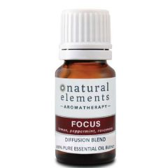 NATURAL ELEMENTS AROMATHERPY FOCUS OIL BLEND 10ML