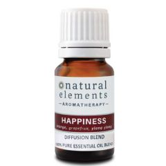 NATURAL ELEMENTS AROMATHERPY HAPPINESS OIL BLEND 10ML