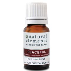 NATURAL ELEMENTS AROMATHERPY PEACEFUL OIL BLEND 10ML
