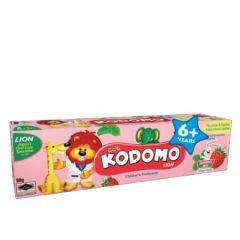 KODOMO LION STRAWBERRY MINT 6+YEARS CHILDREN TOOTHPASTE 60G