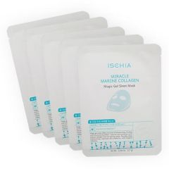 ISCHIA MIRACLE MARINE COLLAGEN MAGIC GEL SIREN MASK 17G X 5S