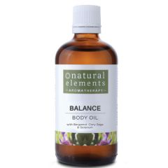 NATURAL ELEMENTS AROMATHERPY BALANCE BODY OIL 100ML
