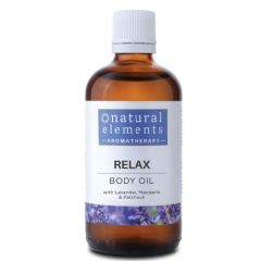 NATURAL ELEMENTS AROMATHERPY RELAX BODY OIL 100ML