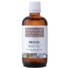 NATURAL ELEMENTS AROMATHERPY REVIVE BODY OIL 100ML