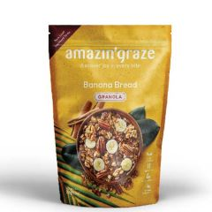 AMAZIN GRAZE BANANA BREAD GRANOLA 250G