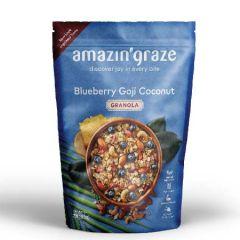 AMAZIN GRAZE BLUEBERRY GOJI COCONUT GRANOLA 250G