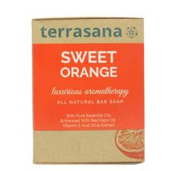 TERRASANA SWEET ORANGE SOAP 100G