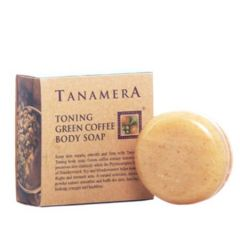 TANAMERA TONING GREEN COFFEE BODY SOAP 100G