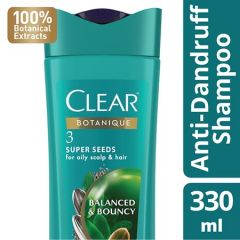 CLEAR BOTANIQUE BALANCED & BOUNCY SHAMPOO 300ML