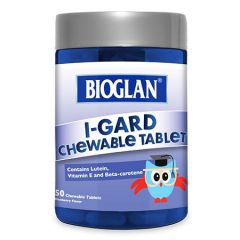 BIOGLAN KIDS I-GARD CHEWABLE TABLET 50S