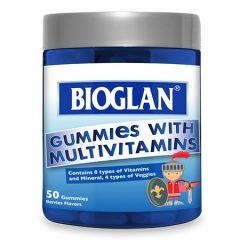 BIOGLAN KIDS GUMMIES WITH MULTIVITAMINS 50S