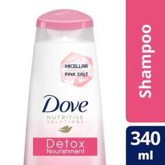DOVE DETOX NOURISHMENT SHAMPOO 340ML