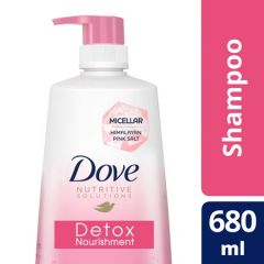 DOVE DETOX NOURISHMENT SHAMPOO 680ML