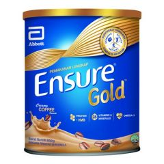 ENSURE GOLD COMPLETE NUTRITION COFFEE 850G