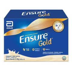 ENSURE GOLD COMPLETE NUTRITION VANILLA 2.4KG