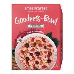 AMAZIN GRAZE GOODNESS BOWL PINK BERRY 40G X 6S