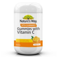 NATURES WAY ADULTS GUMMIES WITH VITAMIN C 60S