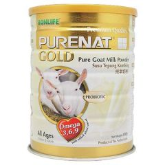 BONLIFE PURENAT GOLD PURE GOAT MILK POWDER 800G